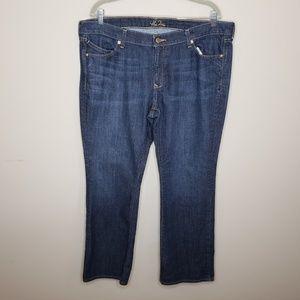 Old Navy The Diva Denim Jeans Medium Wash 16 Short